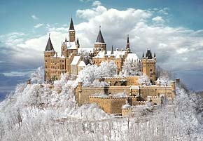 1000 pieces jigsaw puzzle by castorland, hohenzollern castle germany hohenzollerncastle