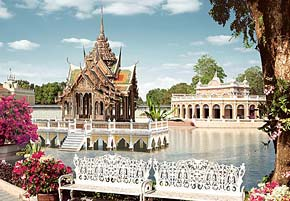 1000 pieces jigsaw puzzle by castorland, Pang Pa-In Palace thailand pangpainpalace