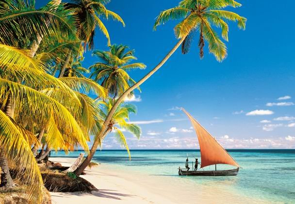 1000 pieces jigsaw puzzle by castorland, maledives indian ocean maledives