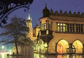 1000 pieces jigsaw puzzle by castorland, the old town cracow poland theoldtown