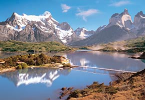 1000 pieces jigsaw puzzle by castorland, torres del paine patagonia chile torresdelpaine