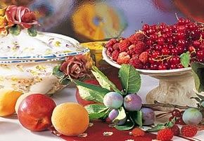 1000 pieces jigsaw puzzle by castorland, summer fruits summerfruits