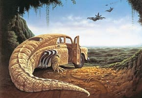 1000 pieces jigsaw puzzle by castorland, attack at dawn by jacek yerka attackatdawn