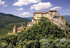 1000 pieces jigsaw puzzle by castorland, orava castle slovakia oravacastle