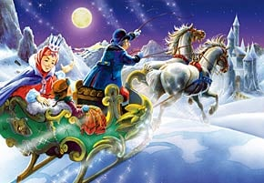 1000 pieces jigsaw puzzle by castorland, the snow queen thesnowqueen