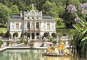 1000 pieces jigsaw puzzle by castorland, Linderhof Palace germany linderhofpalace