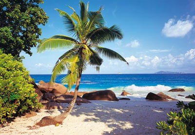 the seychelles indian ocean, castorland jigsaw puzzle, 1500 pieces theseychelles