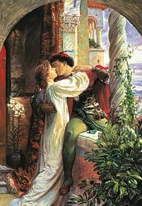 romeo and juliet by sir frank dicksee, 1500 pieces jigsaw puzzle, castorland romeoandjuliet