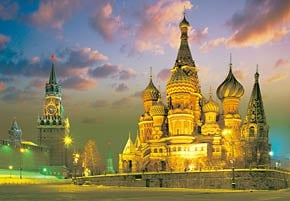 the red square, moscow russia jigsaw puzzle, castorland quality jigsaws theredsquare