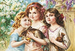 castorland 3000 pieces jigsaw puzzle, the three graces by emile vernon, thethreegraces