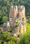 1000 pieces jigsaw puzzle by castorland, eltz castle germany Puzzle