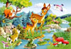 1000 pieces jigsaw puzzle by castorland, little deer