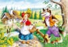 1000 pieces jigsaw puzzle by castorland, little red riding hood Puzzle