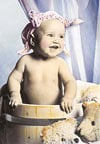 1000 pieces jigsaw puzzle by castorland, baby smile
