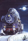 1000 pieces jigsaw puzzle by castorland, locomotive