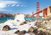 1000 pieces jigsaw puzzle by castorland, golden gate bridge san francisco