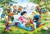 1000 pieces jigsaw puzzle by castorland, snow white and the seven dwarfs