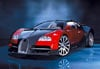 1000 pieces jigsaw puzzle by castorland, bugatti veyron Puzzle