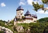 1000 pieces jigsaw puzzle by castorland, karlstein castle czech republic