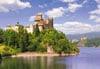 castorland 1000 pieces jigsaw puzzle, dunajec castle niedzica poland puzzel Puzzle