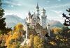 neuschwanstein castle jigsaw puzzle 1500 pieces, germany castorland puzzle Puzzle