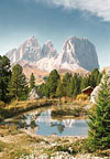 1500 pieces jigsaw puzzle, dolomites italy, nature scenes,