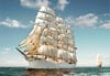 1500 pieces puzzle of sailing ship, castorland jigsaw puzzle