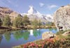 matterhorn switzerland jigsaw puzzle, castorland 1500  pieces