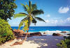 the seychelles indian ocean, castorland jigsaw puzzle, 1500 pieces