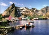 1500 pieces jigsaw puzzle by castorland, fisher village lofoten islands norway