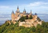 castorland 1500 pieces jigsaw puzzle, hohenzolern castle in germany