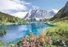 castorland 2000 pieces jigsaw puzzle of seebensee austria