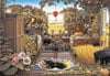 2000 pieces jigsaw puzzle by castorland, jacek yerka surreal puzzle, sunday morning,