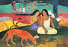 castorland 3000 pieces, jigsaw puzzle of painting by paul gauguin, painting