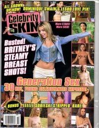 Celebrity Skin # 119 magazine back issue cover image