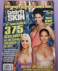 Celebrity Skin # 122 magazine back issue cover image