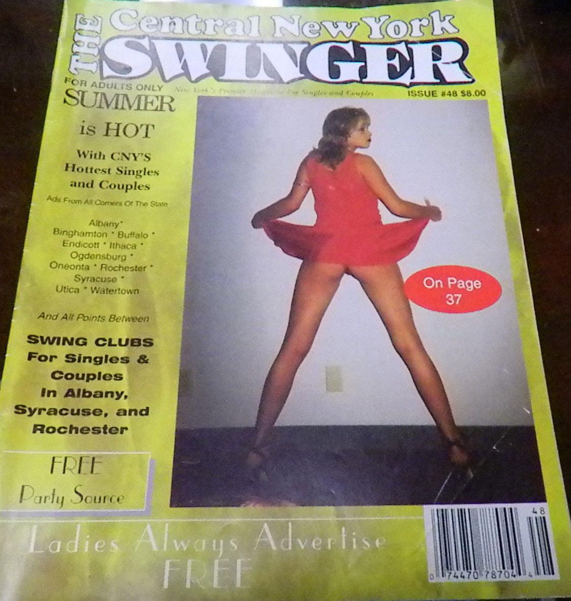 Central New York Swinger # 48 Magazine NY Swinger # 48