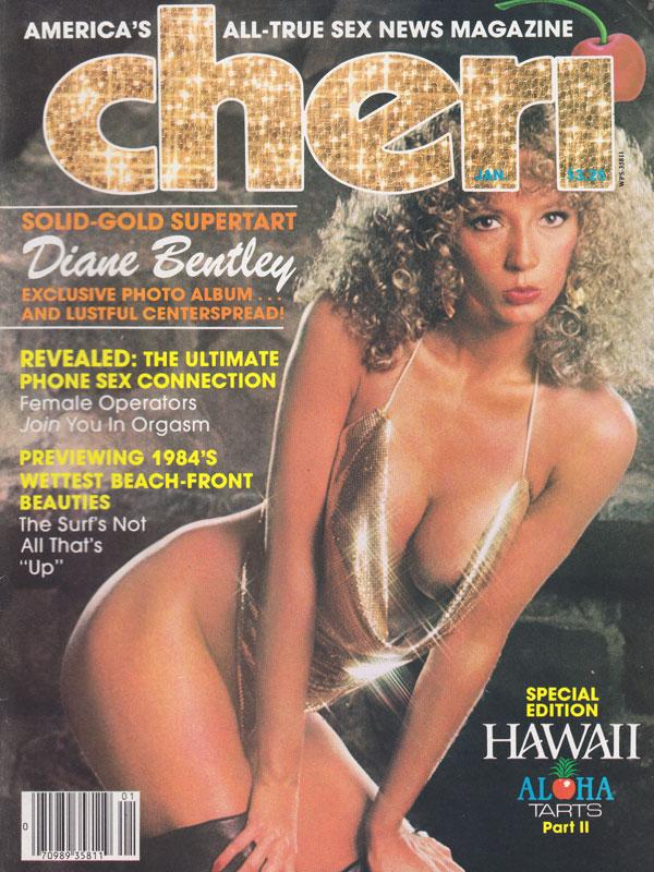 Cheri January 1984 magazine back issue Cheri magizine back copy cheri xxx ...