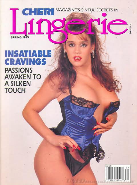 Cheri Spring 1993 - Lingerie magazine back issue Cheri magizine back copy