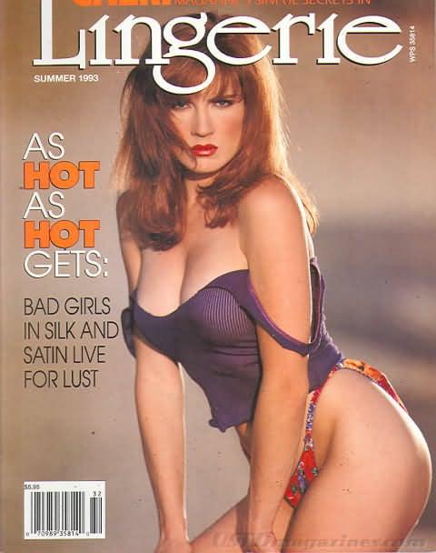 Cheri Summer 1993 - Lingerie magazine back issue Cheri magizine back copy