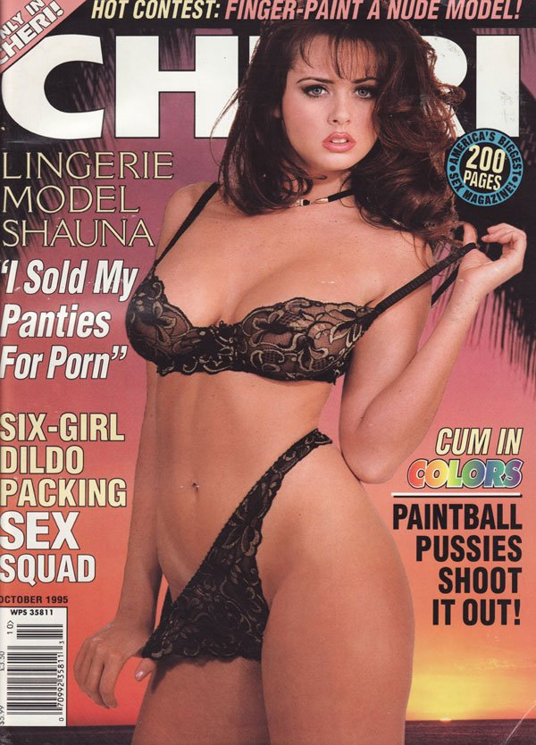Cheri October 1995 magazine back issue Cheri magizine back copy hot contest lingerie model shauna i sold my panties for porn six girl dildo pcking sex squad cum in