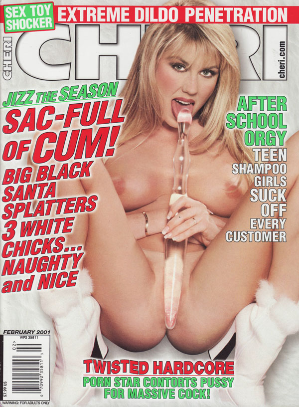 Cheri February 2001 Magazine Back Issue Cheri Wonderclub-9125