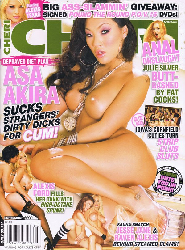 Cheri September 2010 magazine back issue Cheri magizine back copy cheri anal julie silver butt cock strip club sluts porn jesse jane raven alexis asa akira suck dick