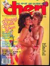 Cheri January 1985 magazine back issue cover image