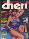 Cheri March 1985 magazine back issue cover image