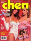 Cheri August 1985 magazine back issue cover image
