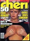 Cheri October 1987 magazine back issue