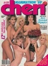 Cheri August 1988 magazine back issue