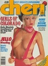 Cheri October 1988 magazine back issue