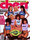 Cheri August 1989 magazine back issue